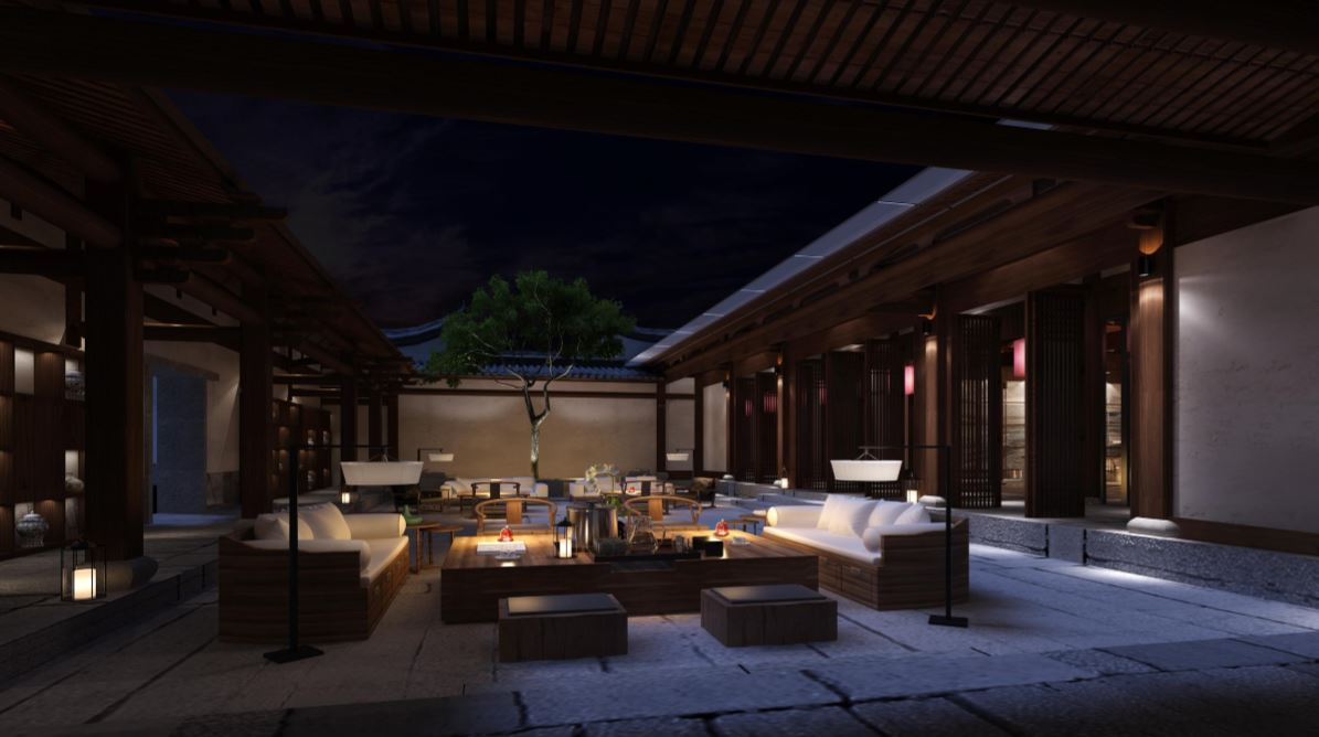 Modern Oriental Commercial Villa
