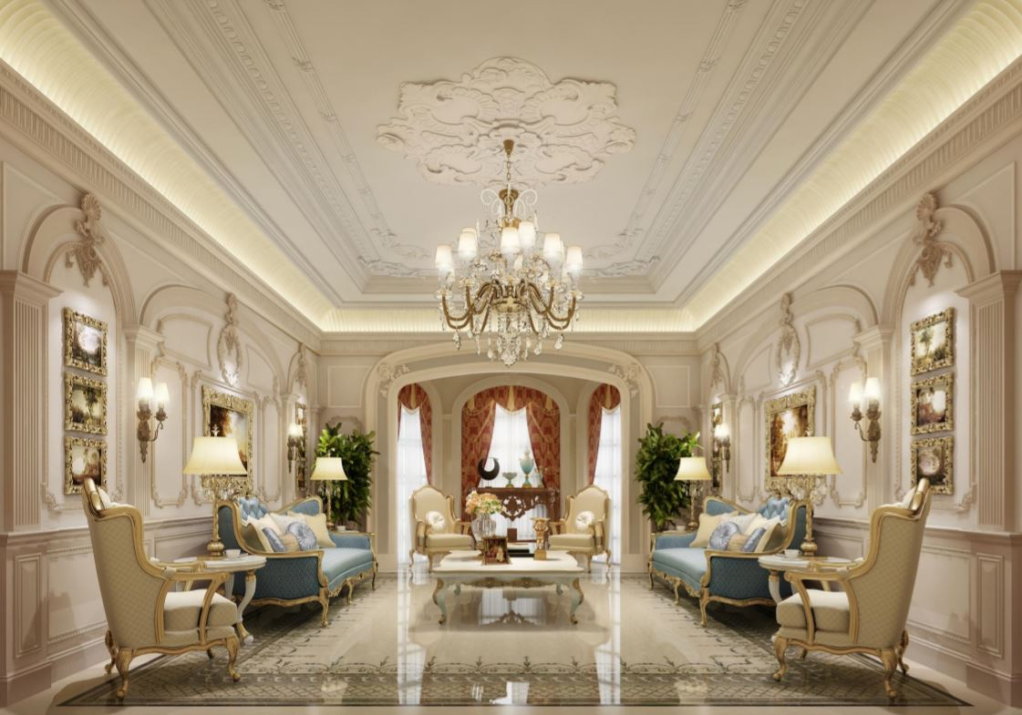Decorous Classical Abode